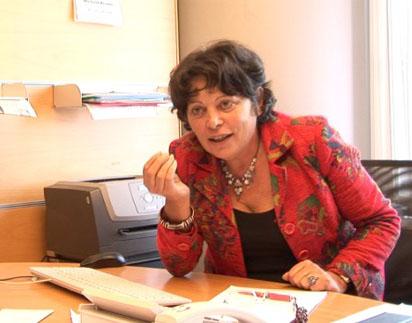 La députée européenne Michèle Rivasi. Photo : Pandémie du Nouveau Monde.