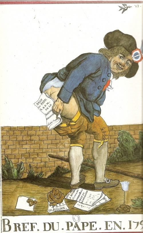 L'élégante réponse d'un sans-culotte à la Bulle papale.