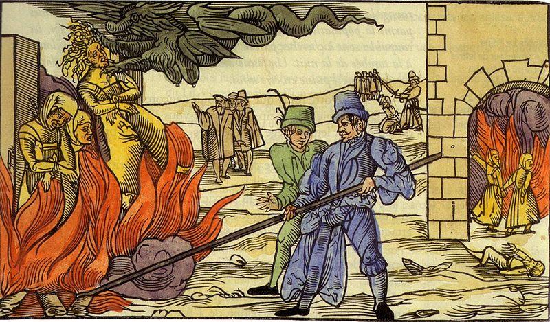 """Etre déclaré """"hérétique"""" pouvait conduire à être brûlé par la """"sainte"""" Inquisition."""