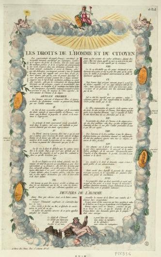 """C'est notamment l'article 11 de la Déclaration qui donnait des boutons à l'Eglise : """"La libre communication des pensées et des opinions est un des droits les plus précieux de l'Homme : tout Citoyen peut donc parler, écrire, imprimer librement, sauf à répondre de l'abus de cette liberté dans les cas déterminés par la Loi."""""""