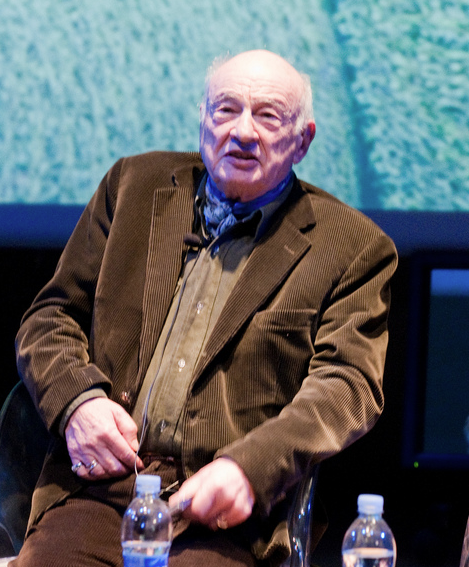 Edgar Morin. Photo : Gianfranco Chicco.