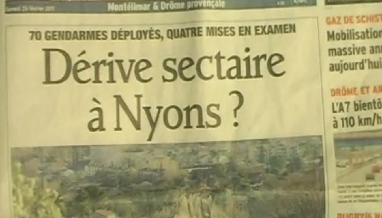 70 gendarmes pour envahir un petit centre de formation au biodynamisme, dangereuse dérive sectaire, c'est bien connu...