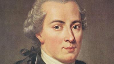"""Le philosophe allemand Emmanuel Kant, auteur du fameux texte: """"Qu'est-ce que les Lumières?"""""""