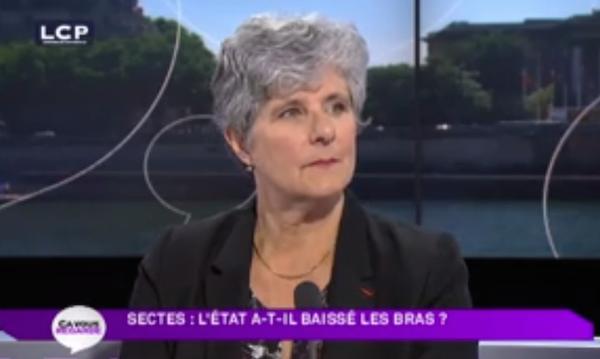 Catherine Picard, interrogée sur LCP, tacle le ministère de la santé qui ne réunit plus son groupe de travail sur les médecines douces.