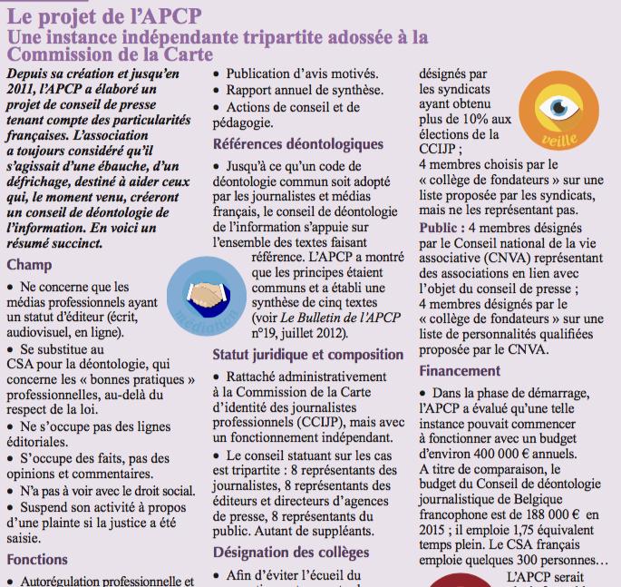 projet apcp