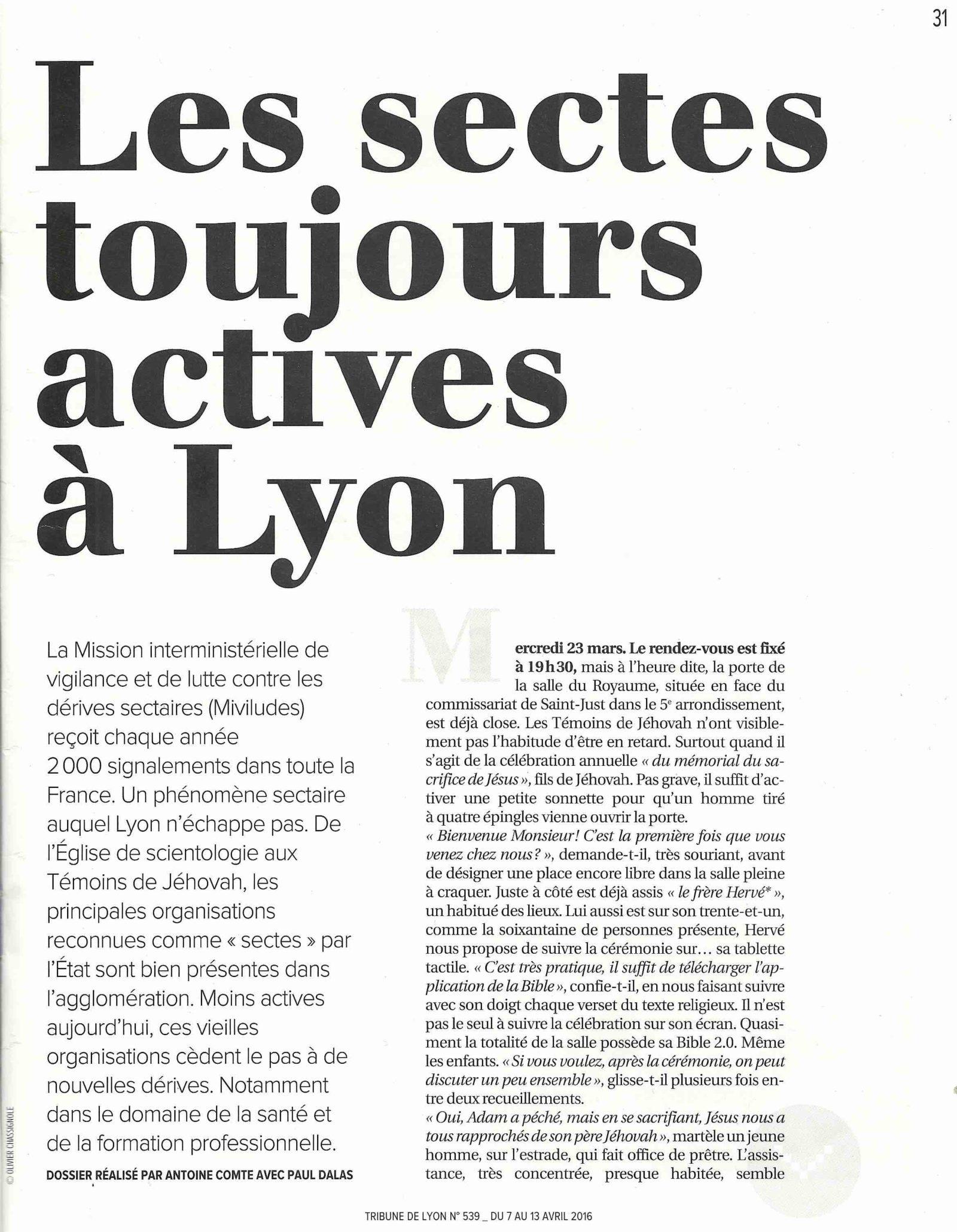 Tribune Lyon 2