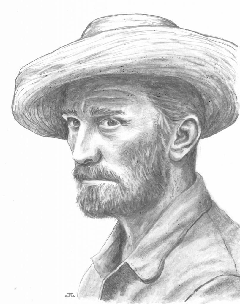 Kirk Douglas dans la peau – et l'âme – du peintre Vincent van Gogh.