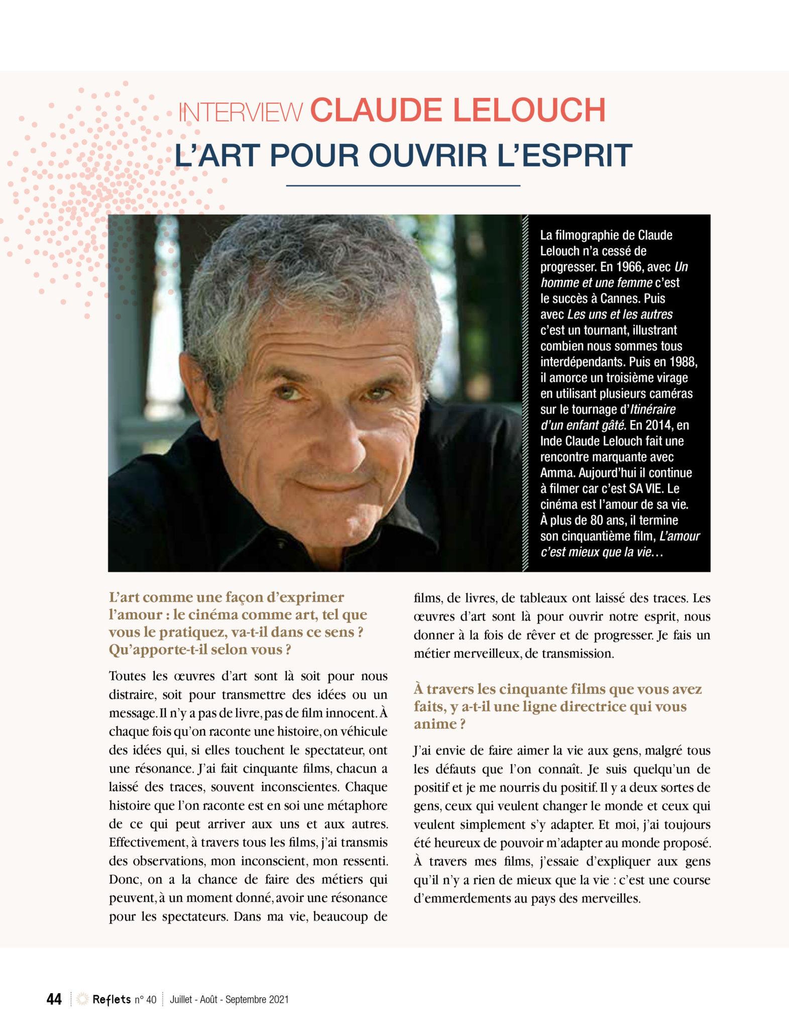 1ère page de l'article sur Lelouch