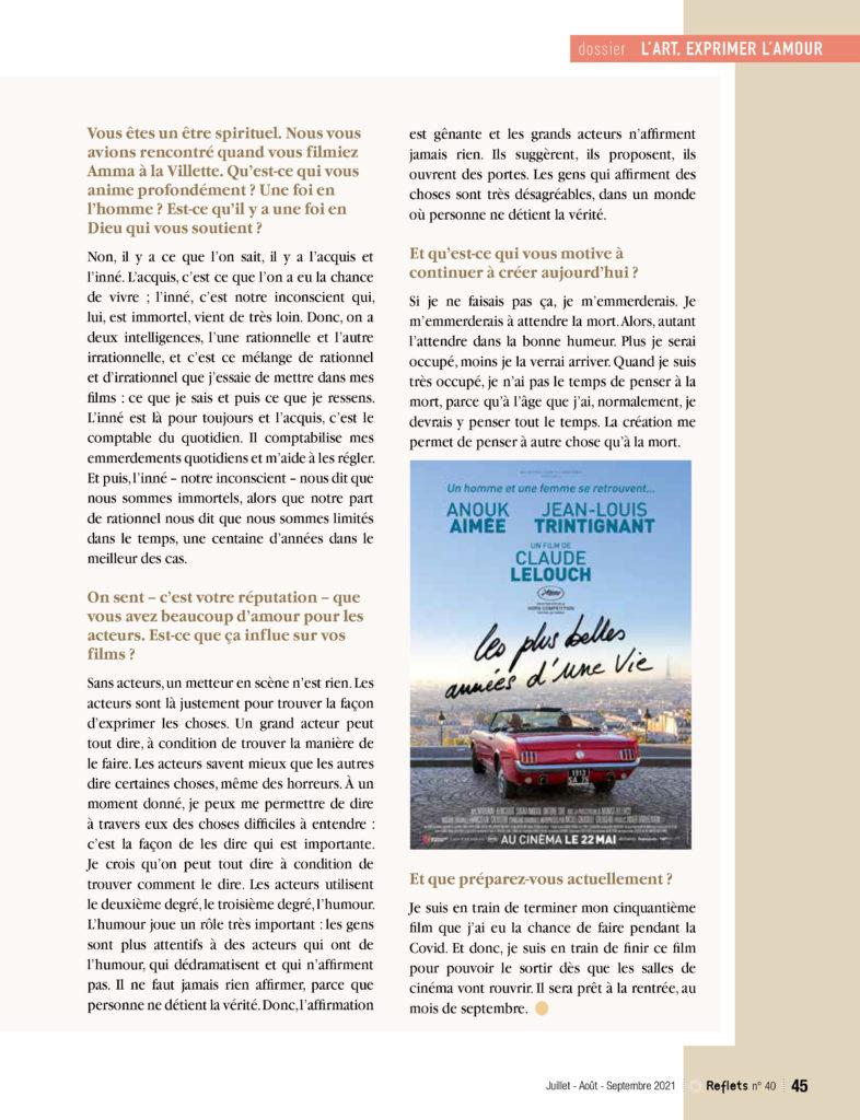 2ème page de l'article sur Lelouch